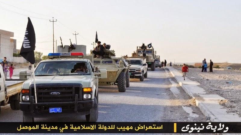 Materiels et equipements captures par l Etat Islamique -m111710