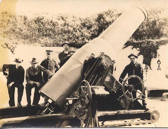 Artillerie cotiere lourde US dans le pacifique A_bat110