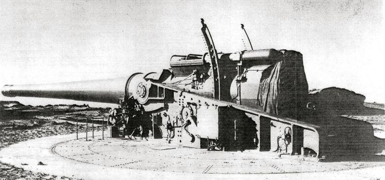 Artillerie cotiere lourde US dans le pacifique A_bat114