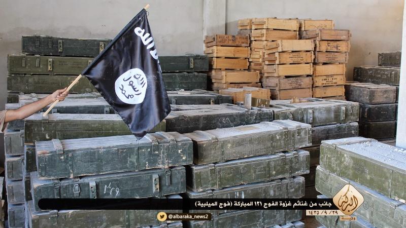Materiels et equipements captures par l Etat Islamique Aa15