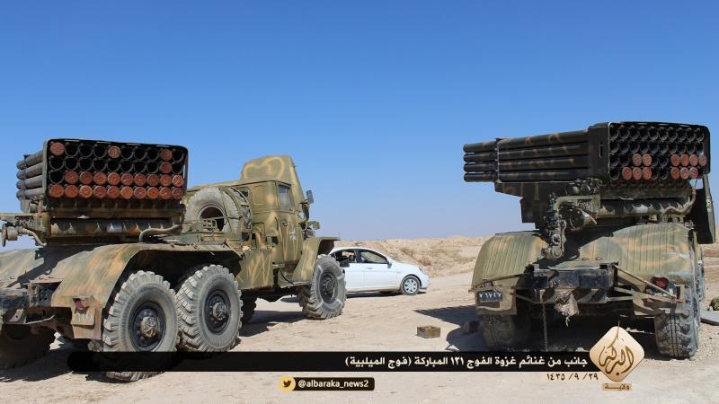 Materiels et equipements captures par l Etat Islamique Aa410