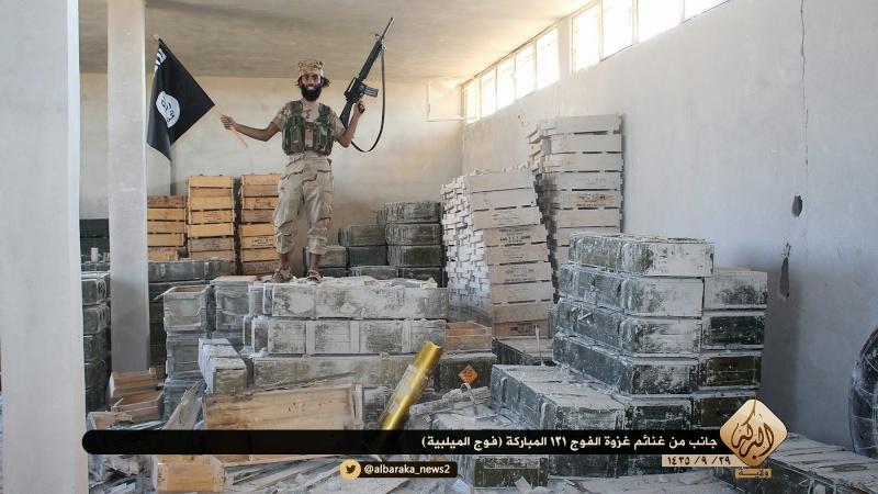 Materiels et equipements captures par l Etat Islamique Aa610