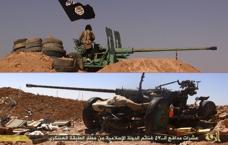 Materiels et equipements captures par l Etat Islamique Aa611