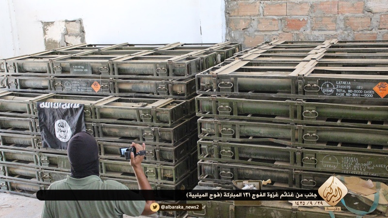 Materiels et equipements captures par l Etat Islamique Aa712