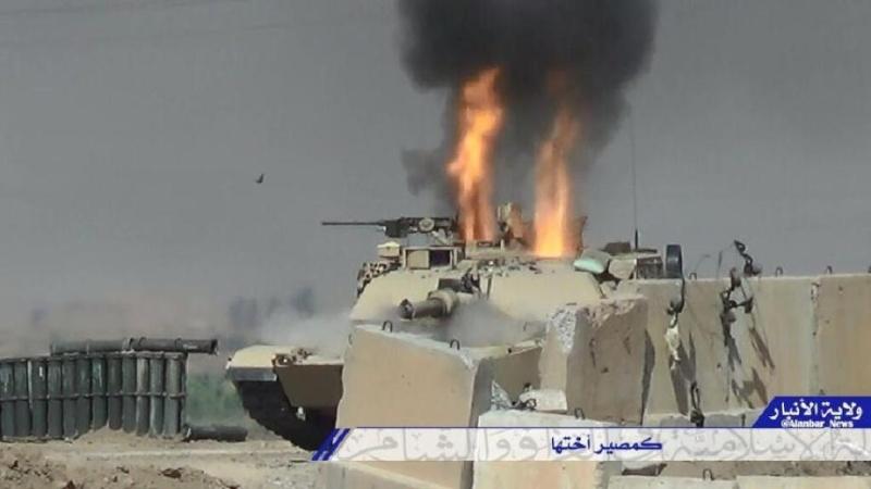 Materiels et equipements captures par l Etat Islamique Destro12