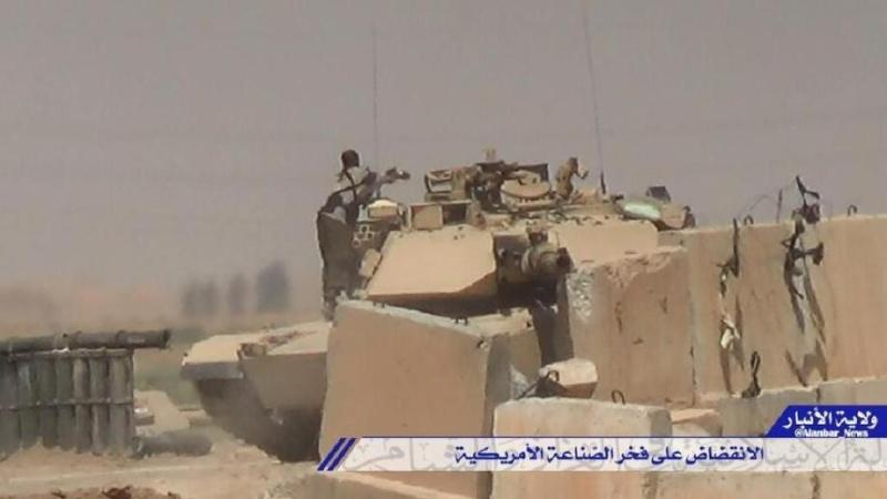 Materiels et equipements captures par l Etat Islamique Destro14