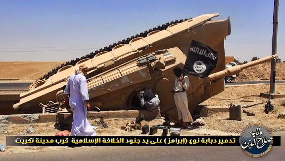 Materiels et equipements captures par l Etat Islamique Is_m110