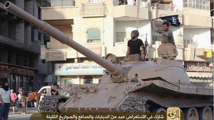 Materiels et equipements captures par l Etat Islamique Isil_t10