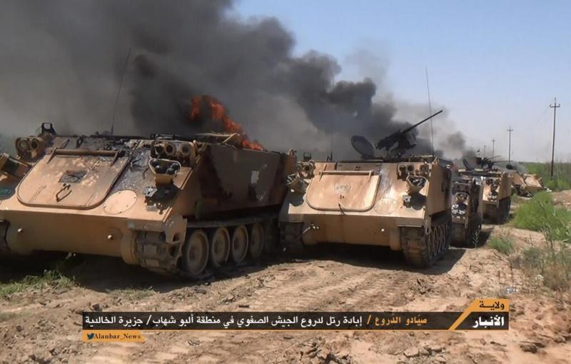 Materiels et equipements captures par l Etat Islamique M113_b10