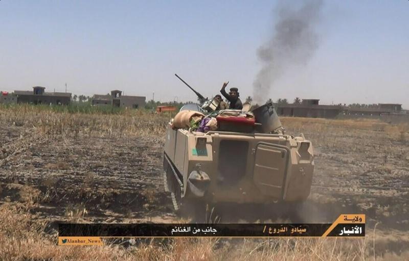 Materiels et equipements captures par l Etat Islamique M113_o10