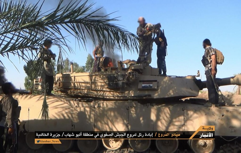 Materiels et equipements captures par l Etat Islamique M1_abr10
