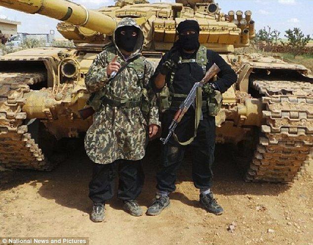 Materiels et equipements captures par l Etat Islamique T7210