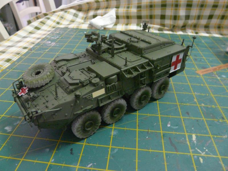 M 1133 Stryker MEV, M 1135 Stryker NBC RV P1120011