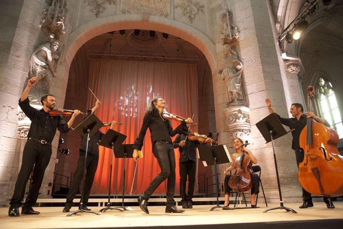 Nemanja & Les Trilles du Diable, Festival de Saint Riquier Juillet 2010 0810
