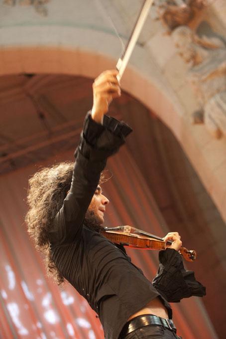 Nemanja & Les Trilles du Diable, Festival de Saint Riquier Juillet 2010 1010