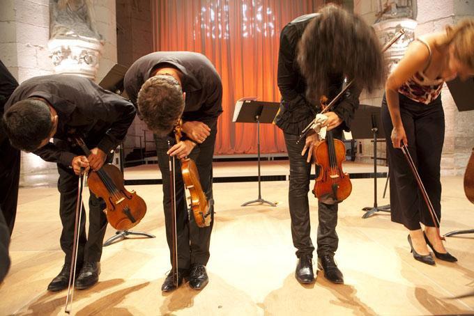 Nemanja & Les Trilles du Diable, Festival de Saint Riquier Juillet 2010 1110