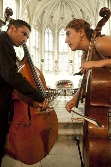 Nemanja & Les Trilles du Diable, Festival de Saint Riquier Juillet 2010 1210