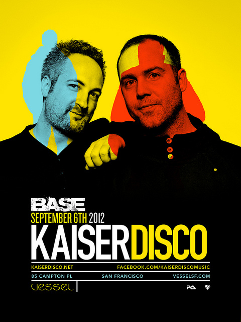 2012.09.06 - KAISERDISCO @ VESSEL, SAN FRANCISCO (USA) Flyero10