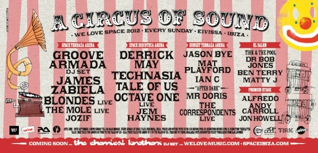 2012.07.29 - JAMES ZABIELA - WE LOVE SPACE SUNDAYS N°8 @ SPACE [IBIZA 2012] Jul2910