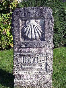Taug  Hauv Paus Xa Lus Yas Kos txoj KEV  ( LEEJ NTSHIAB YAS KOS TUS HLOB), Route de St.Jacques de Compostelle 230px-10