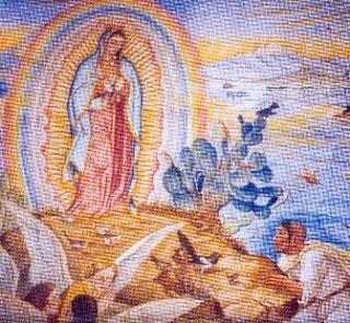 Niam Mab Liab Guadalupe Tshwm Sim nyob Mexico Guadel11