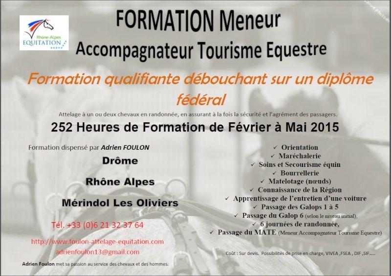 Formateur Meneur Accompagnateur Tourisme Equestre Format10