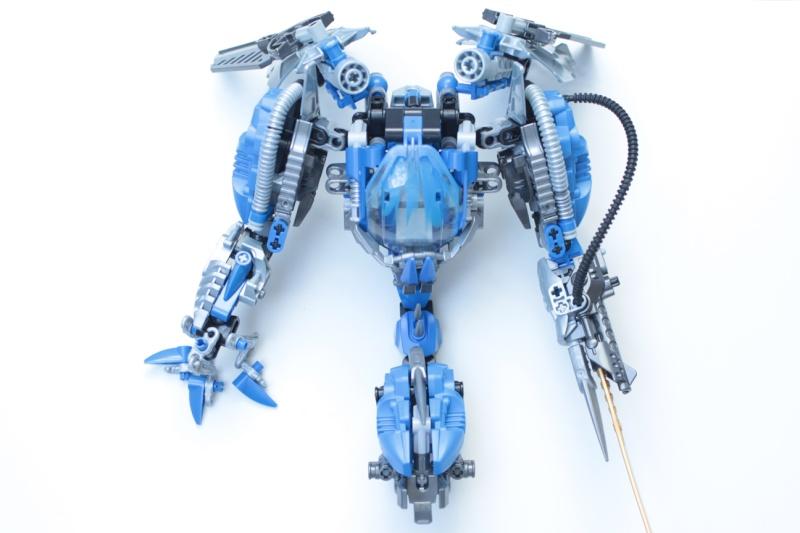 [MOC] Concours été 2014 : Robot Aquatique de Surge 810