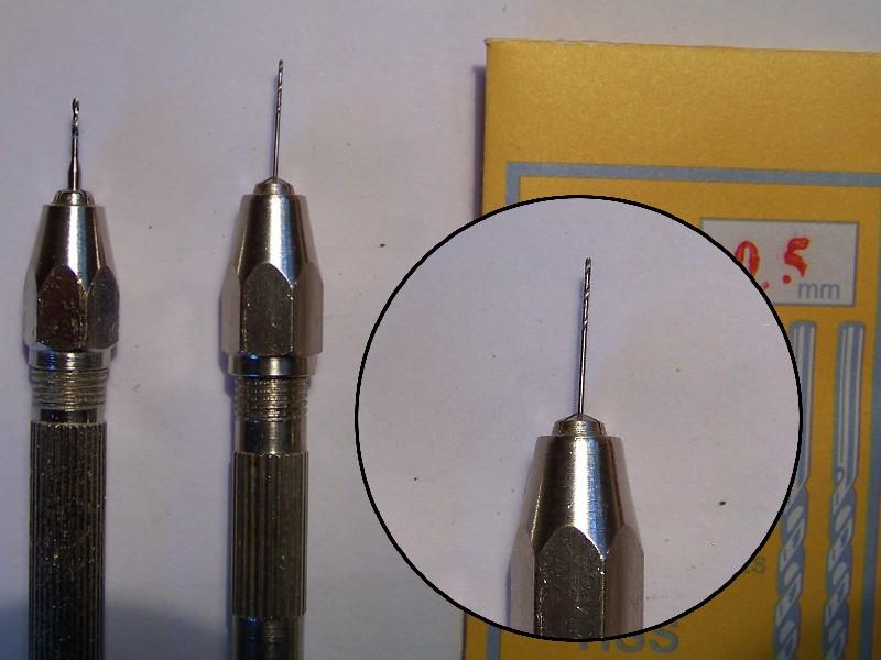 Bohrerhalter / Handbohrer 0 - 3,2 mm Vorstellung  Bohrer10