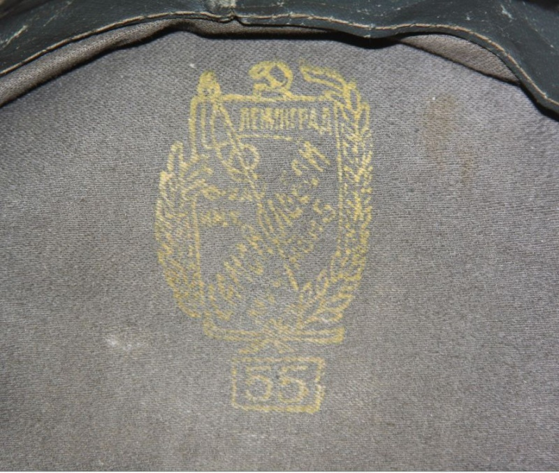 Casquette d'infanterie Soviétique M35 Img_7312