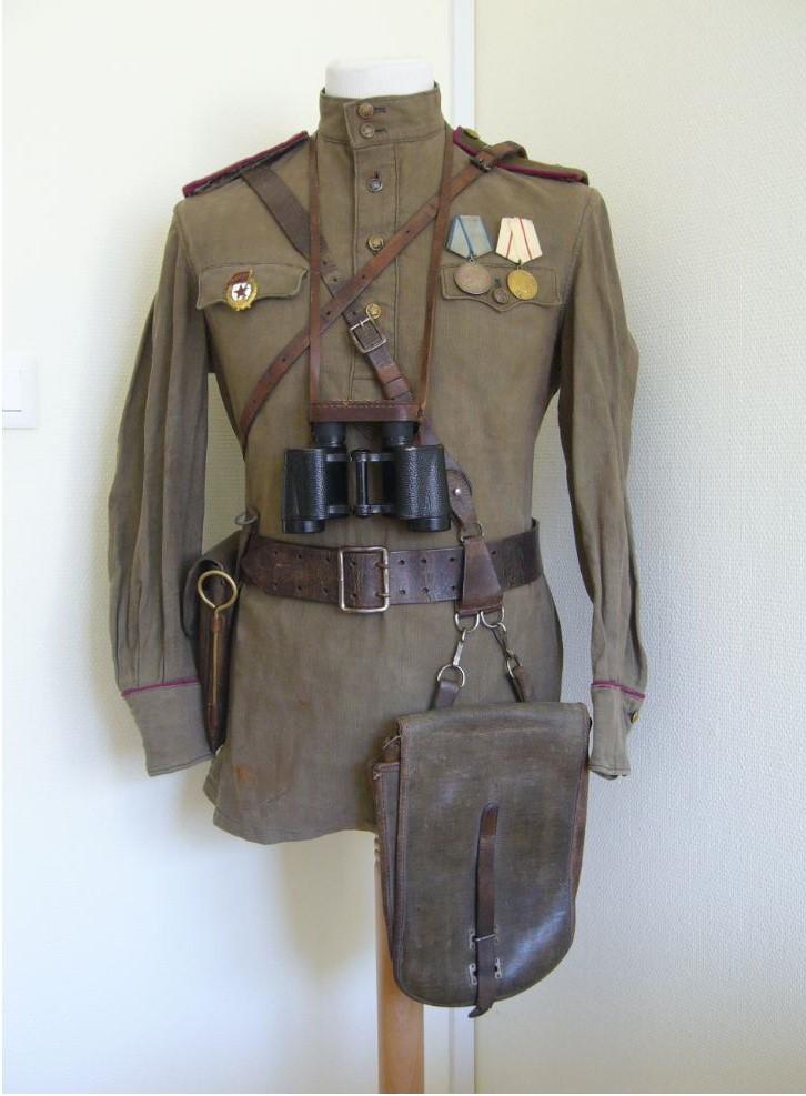 Casquette d'infanterie Soviétique M35 M43_of11