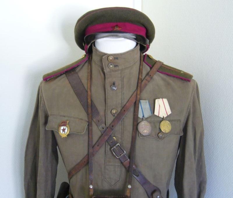 Casquette d'infanterie Soviétique M35 P1070410