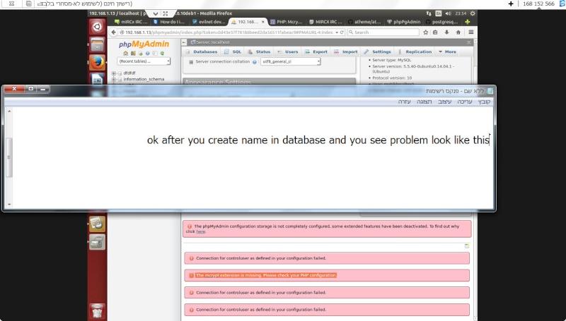 Guide install PhpmyAdmin in ubuntu  13-12-12