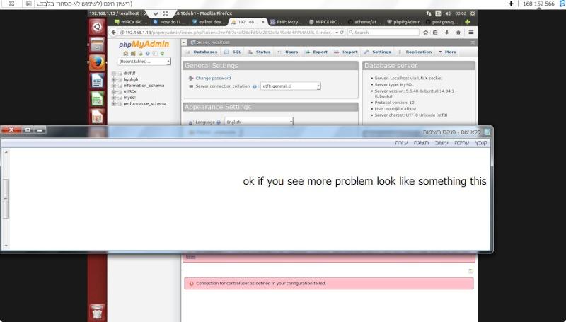 Guide install PhpmyAdmin in ubuntu  14-12-10