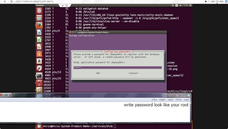 Guide install PhpmyAdmin in ubuntu  26-11-12