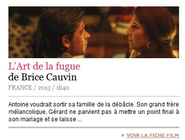 """""""L'Art de la Fugue"""" de Brice Cauvin (Sortie 25 juin 2014) 111"""