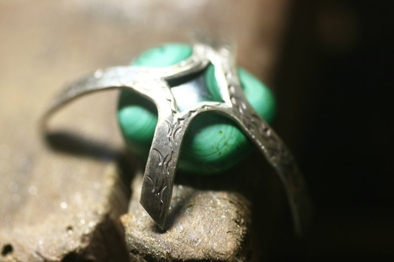 Bague Malachite  M_mg_912