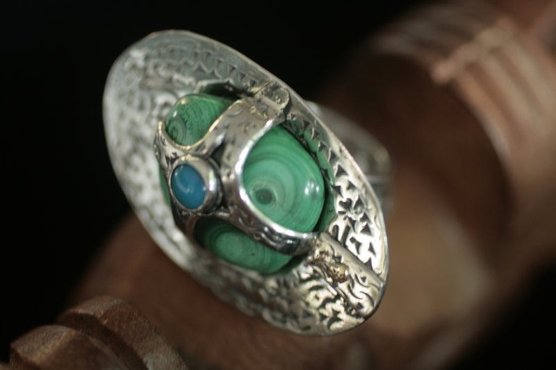 Bague Malachite  M_mg_915