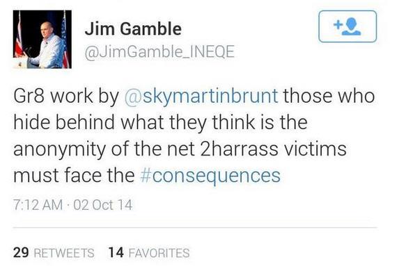 Jim Gamble: Gr8 work by @skymartinbrunt  Gamble10