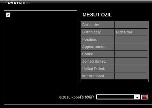 موقع مانشستر يونايتد على الانترنت يزيد الاشاعات ويضع اسم مسعود اوزيل ضمن قائمة الفريق  News_k10