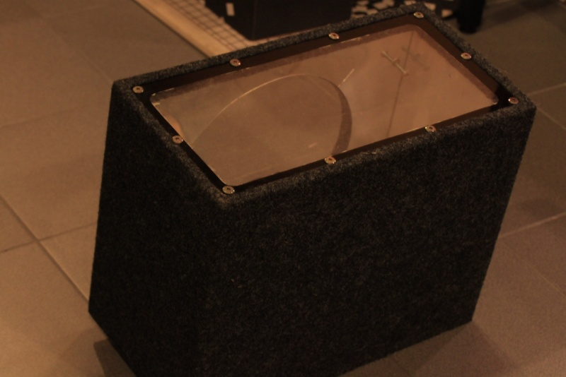 WTS: Subwoofer enclosures and A-pillar for Civic FD2 for large format tweeters Glass210