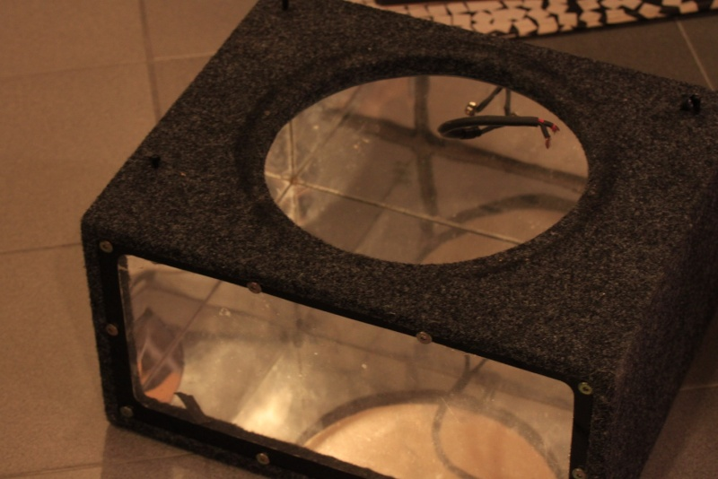 WTS: Subwoofer enclosures and A-pillar for Civic FD2 for large format tweeters Glass211