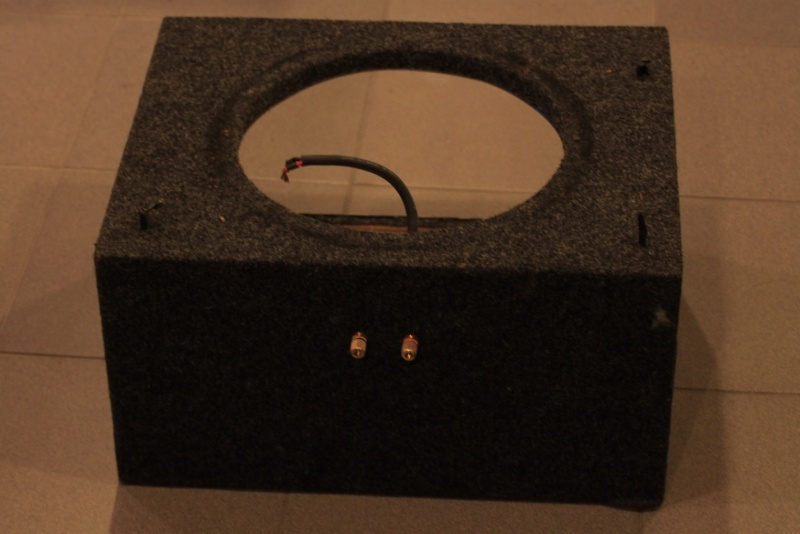 WTS: Subwoofer enclosures and A-pillar for Civic FD2 for large format tweeters Glass310