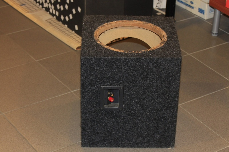 WTS: Subwoofer enclosures and A-pillar for Civic FD2 for large format tweeters Scans210