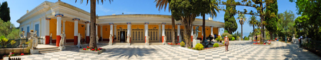 Achilleion, le palais de l'impératrice SISSI  Corfou13