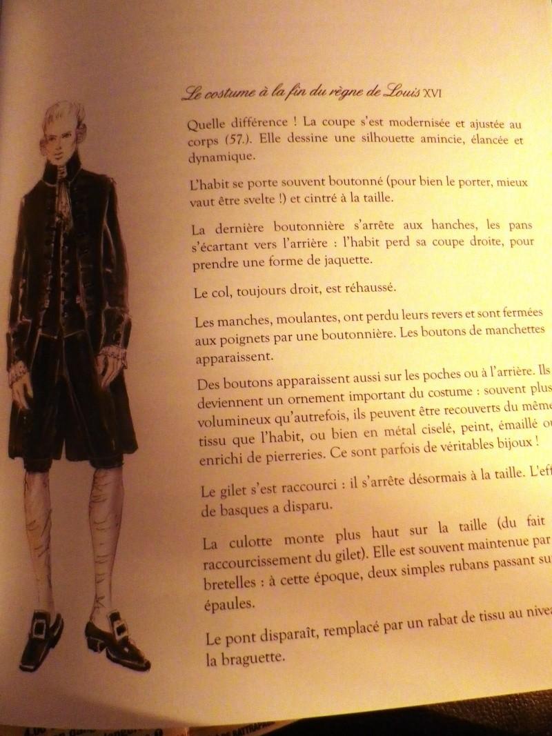 La mode et les vêtements au XVIIIe siècle  - Page 2 Imgp2249