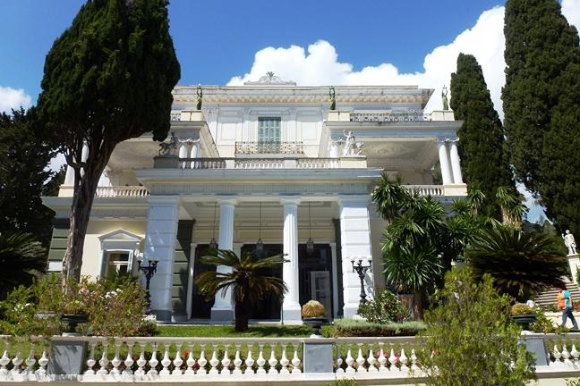 Achilleion, le palais de l'impératrice SISSI  P1030019