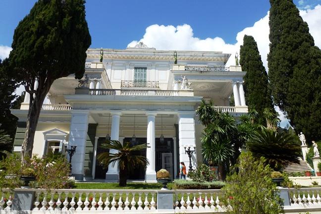 Achilleion, le palais de l'impératrice SISSI  P1030020