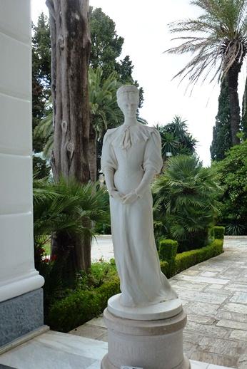 Achilleion, le palais de l'impératrice SISSI  P1030021