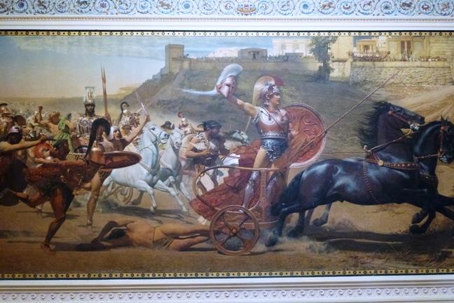 Achilleion, le palais de l'impératrice SISSI  P1030023
