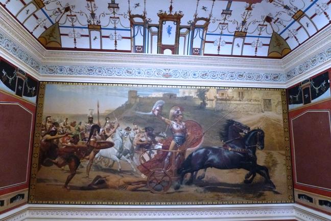 Achilleion, le palais de l'impératrice SISSI  P1030024